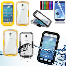 FREE PEN&Film+Waterproof Shockproof Dirt Snow Proof Case For SAMSUNG GALAXY S4