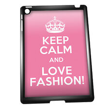 Cover for iPad Mini 2 case #202 Keep Calm and Love Fashion Gift Idea Girly cute