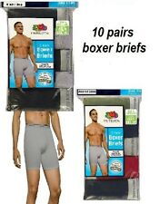 Fruit of the Loom  Men's 10 pair  Boxer Briefs  New Sizing For An Improved Fit