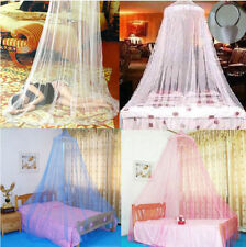 1PCS Elegant Round Lace Insect Bed Canopy Netting Curtain Dome Mosquito Net SS