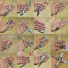 "6.5""League of Legends LOL Weapons of All Champions Alloy Model Keychain Pendant"