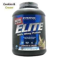 Dymatize Nutrition: ELITE WHEY PROTEIN - COOKIES N CREAM (5 lbs)