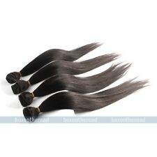 Natural Black Brazilian Weaving Straight Remy 100% Human Hair Extensions 50g