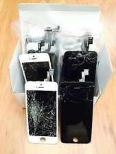 iPhone 4/4s/5/5c/5s 100%working Front Screen  LCD  Digitizer with cracked glass