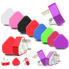 Universal USB Mains Charger UK Wall Plug For Most Smart Phone Huawei Sony etc