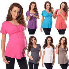 2in1 Maternity and Nursing Top Tunic Breastfeeding Size 8 10 12 14 16 18 7042