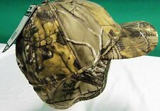 Carhartt Mens Camo Insulated Earflap fitted Cap  [CA#7-1477] Free ship inside US