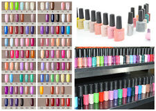 UV Gel Polish Shellac Soak Off Fashion Colour LED Glitter Deco 7.3ml #G