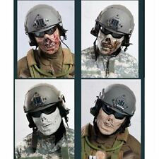 Live CS Airsoft Paintball Strike Protection Gear Military Zombie Half Face Mask