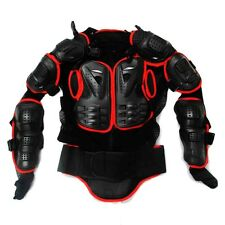 Adult Body Armor Jacket Motorcycle Guard Chest Protector S M L XL XXL XXXL Red