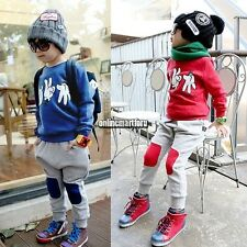 Summer Baby kids Boy infant clothing long Sleeve Tshirt+Pants Outfits sets
