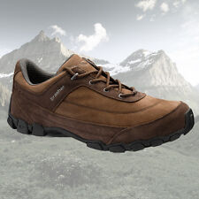 BRASHER MENS GUIDER LEATHER TRAVEL HIKING WALKING SHOES TRAINERS  - UK 7 TO 11