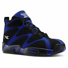 [V56110] REEBOK KAMIKAZI 1 MID BLUE/BLACK/WHITE MEN'S SIZE 8 TO 13 NIB