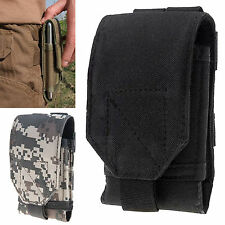 Army Combat Camo Velcro Pouch DPM ACU Bag for Belt Loop Cover For Samsung Note