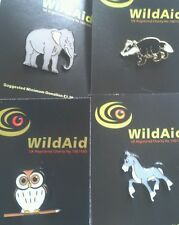 David Beckham & Prince William joined the  Wildaid Charity.Badger,Robin,Horse,