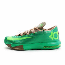Nike KD VI [599424-301] Basketball Durant Bamboo Gamma Green/Flash Lime