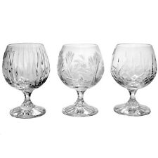 Art deco stuart crystal cognac glass brandy balloon ebay - Waterford cognac glasses ...