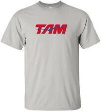 TAM Airlines Vintage Brazilian Airline Logo T-Shirt