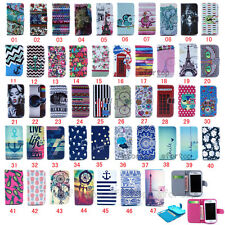Fashion Hybrid Flip Printed Cute Design PU Leather Stand Case Cover For Samsung