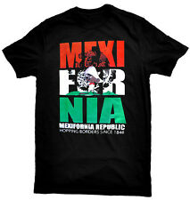 Mexifornia Republic T-Shirt. Funny Mexican Chicano Pride Cali T-Shirt