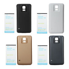 Extended 7000mAh Backup Battery with Back Case Pack for Samsung Galaxy S5 i9600
