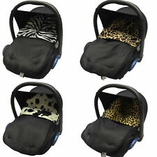 JOIE UNIVERSAL ANIMAL PRINT CAR SEAT FOOTMUFF/COSY TOES. NEW