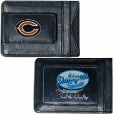 Offically Licensed NFL Football Leather Money Clip Card Holder Choose Your Team