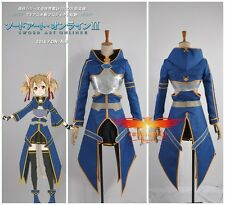 Sword Art Online ⅡPhantom Bullet  Silica/ Keiko Ayano Cosplay Costume Any Size