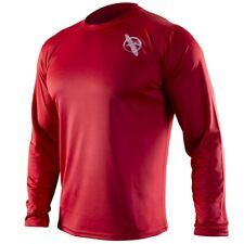 Hayabusa Kunren Training Shirt (Red) - mma gym bjj