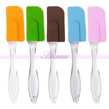 Non Stick Silicone Spatula Scraper Cake Muffin Butter Stir Fry Utensils Knife