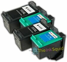 4 Compatible HP56/57 Non-oem Ink Cartridges