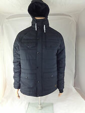 Adidas Originals Hibernation Mens Padded Black Jacket Coat