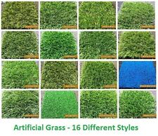 2m x 7m Artificial Garden Grass Realistic Natural Looking Astroturf Fake Lawn