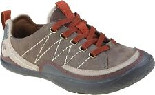 Kalso Earth Women's Pace Lace Up Casual Sneaker Walking Shoes Stone