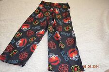 Boys New 3 pc Pajamas long pants shorts top Elmo nightwear