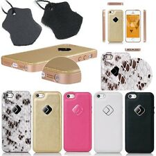 Joyroom Ultra-thin Real Genuine leather Back Case Cover For Apple iPhone 5/5S