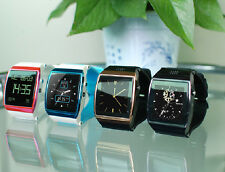 Hot Bluetooth Smart Watch Phone with Camera Mic For Smart Phones SIM Supported