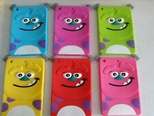 Cartoon 3D Cute Smile Monster Soft Silicone Case Cover For iPad 2 3 4 iPad Air 5