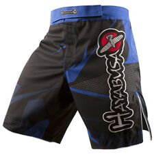 Hayabusa Metaru Performance Shorts (Black/Blue) - mma bjj training