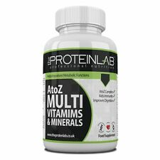 Multi Vitamins and Minerals A-Z One a Day Tablets Free P&P in 14 to 360 Packs