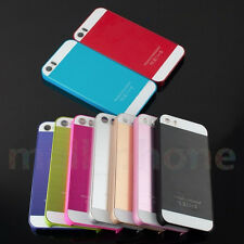 For iPhone 6 5s 4s Frame Luxury Chrome Hard Back New Case Cover beautiful colors