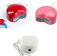 Heart shape Auto Manicure LED UV Gel Lamp Light Nail Dryer Polish Curing Machine