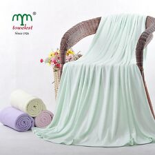 MMY Waffle Bamboo Baby Receiving Blankets Kid Bedding Sets Full Throw 100*100cm