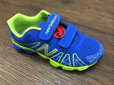 New Balance Boy Sneakers Authentic KG890CGP Blue Lime Green Size 10.5 to 3 Wide