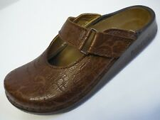FOOTPRINTS Brugge 38 39 40 41 Clogs Marrone Normale NUOVO