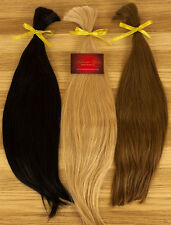 100% genuine SINGLE DRAWN Russian/Slavic hair 25g Loose/I-tip/U-tip 25 colours