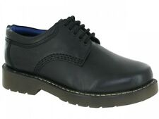 Mens Leather Upper Lace Up Non Slip Rubber Sole Office School Shoes Size 6-12