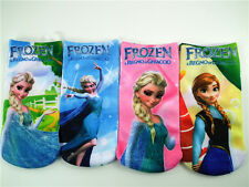 4 Disney Movie Frozen Princess Elsa & Anna Cartoon Girl's Ankle Socks 4-12 Years