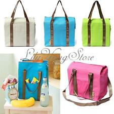 Thermal Portable Insulated Waterproof Cooler Picnic Lunch Carry Tote Storage Bag