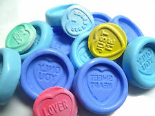 Love Heart Sweet Silicon Mold Fimo Sculpey polymer clay Minature embelishment L1